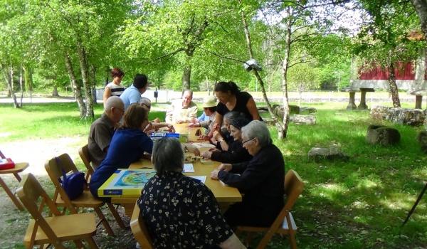 Atividade do Projeto Envelhecer a Sorrir no Dia Internacional dos Museus