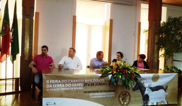 Apresentação oficial da IIª Feira do Cabrito Biológico da Serra do Gerês