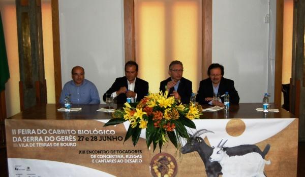 Feira do Cabrito Biológico da Serra do Gerês decorreu a 27 e 28 de junho na sede do concelho