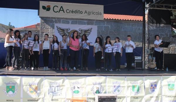 Grupo Utopia da Escola de Música do Centro Municipal de Valências anima tarde de sábado das Festas Concelhias de Terras de Bouro 2015