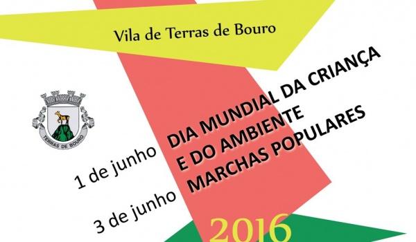 Comemorações do Dia Mundial da Criança e do Ambiente e Marchas Populares 2016