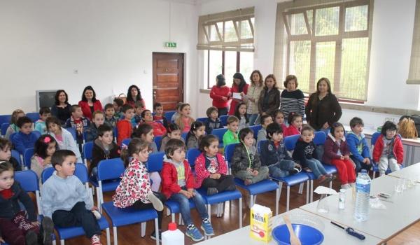 Semana dedicada às ciências experimentais com água encerra ciclo de atividades realizadas ao longo do ano letivo com o Agrupamento de Escolas de Terras de Bouro