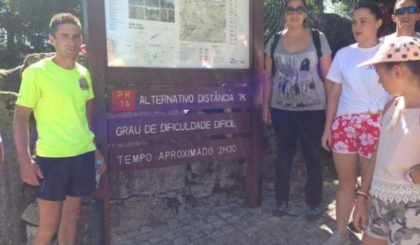 Inaugurado trilho alternativo ao percurso do Sobreiral