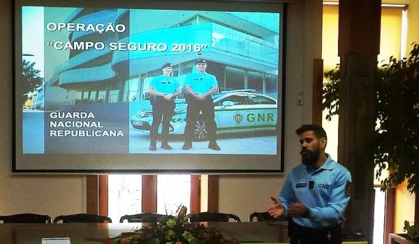 """Operação """"Campo Seguro 2016"""" apresentada na Câmara Municipal de Terras de Bouro"""