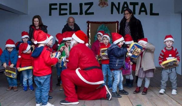 Município de Terras de Bouro distribui prendas de natal nos Jardins de Infância e Escolas de Ensino Básico do concelho