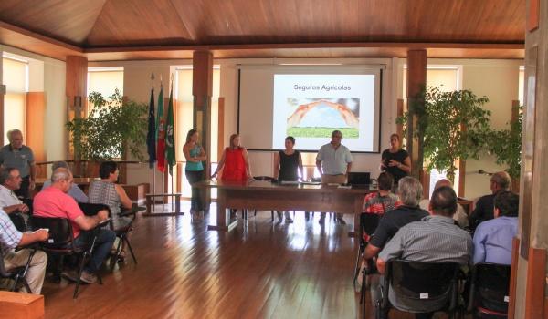 Câmara Municipal de Terras de Bouro Promoveu Sessão de Esclarecimento Sobre Seguros Agrícolas