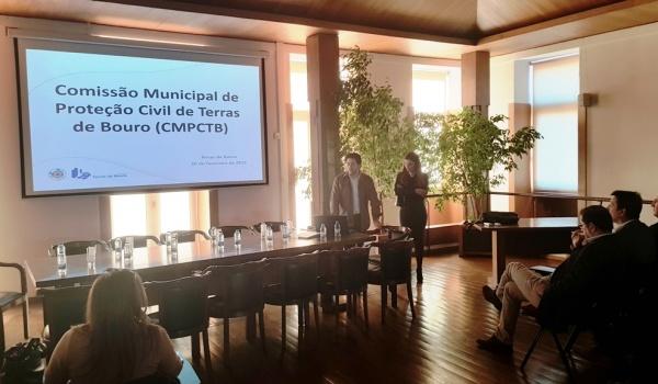 Reunião da Comissão Municipal de Emergência de Proteção Civil de Terras de Bouro