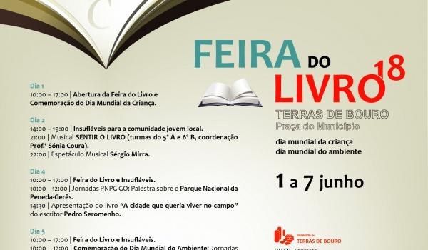 Terras de Bouro organiza Feira do Livro de 1 a 7 de junho e comemora Dia Mundial da Criança e Dia Mundial do Ambiente