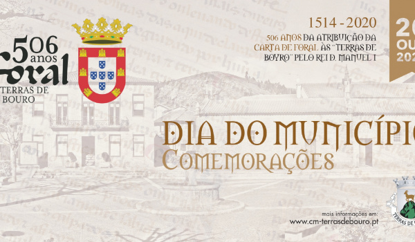 Cancelamento das Comemorações do  Dia do Município a 20 de outubro