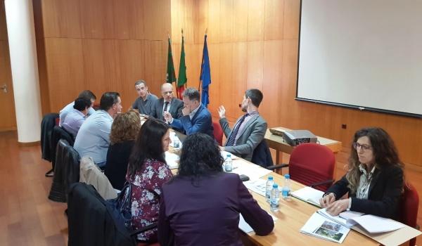 Reunião da Unidade de Gestão e Coordenação do Projeto Raia Termal
