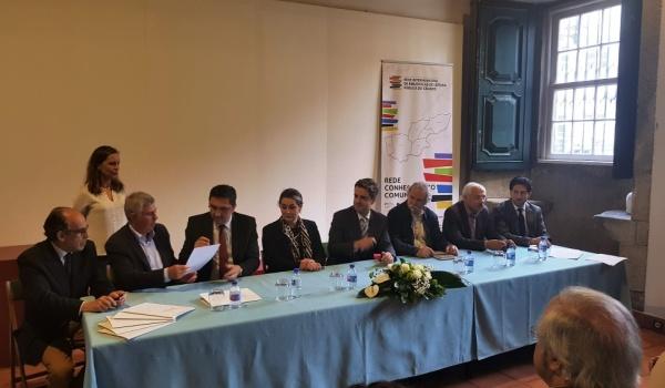 Cerimónia de assinatura do Acordo de Cooperação para a constituição da Rede de Intermunicipal de Bibliotecas de Leitura Publica do Cávado