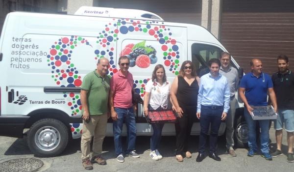 Entrega de viatura à Associação Terras do Gerês – Associação de Pequenos Frutos