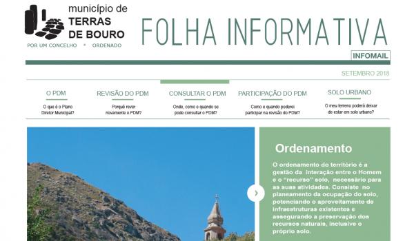 Revisão do Plano Director Municipal (PDM) com sessão em Rio Caldo a 21 de setembro