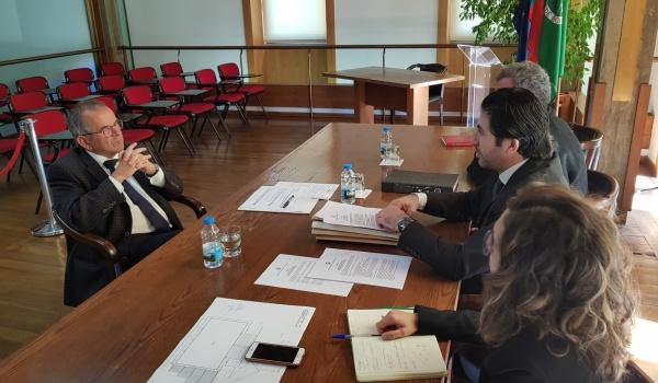Visita do Sr. Secretário de Estado das Autarquias Locais, Dr. Carlos Miguel a Terras de Bouro