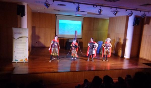 Apresentação aos alunos do 6.º ano a peça de teatro: Ulisses - regresso a Ítaca.