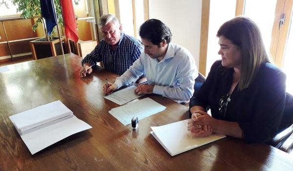 Assinatura do Contrato de Requalificação da Avenida 20 de junho na vila do Gerês