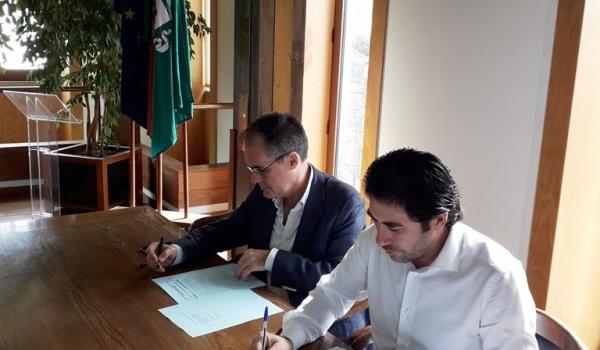 Assinatura do Contrato do Parque Verde Urbano de Moimenta – Parque da Vila