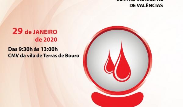 XII Campanha de Recolha de Sangue a 29 de janeiro