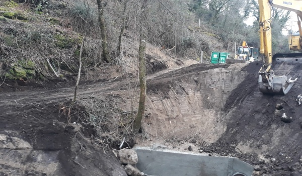 Reabertura da Estrada M535 entre Chorense e Santa Isabel do Monte