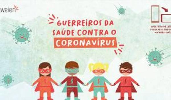 """Livro Digital """"Guerreiros da Saúde contra o Coronavírus"""" - Disponível para download GRATUITO e acessível a todos"""