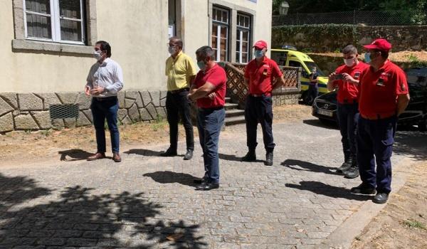 Brigada de Combate a Incêndios na Vila do Gerês