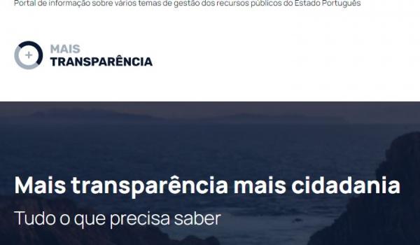 """Portal """"Mais Transparência"""" já está disponível"""