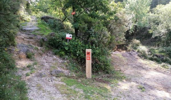 Renovação da sinalética dos Caminhos de S. Bento no Formigueiro