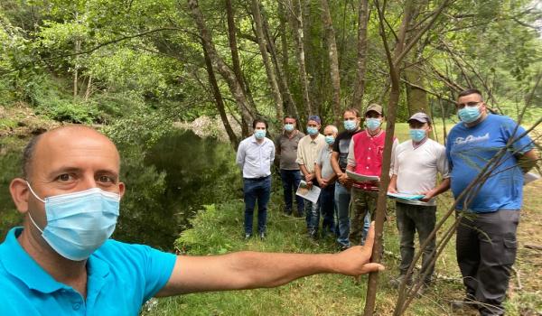 Primeiros Sapadores dos Rios+ Protegem e Valorizam o Rio Homem em Terras De Bouro