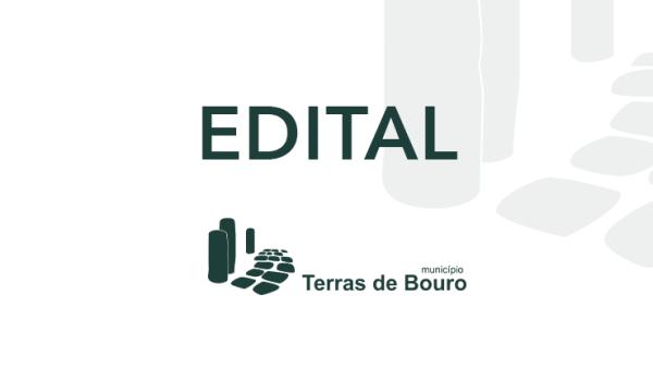 Edital - Interrupção de Trânsito, e Proibição de Estacionamento